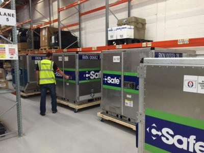 C Safe containers at Unit 22